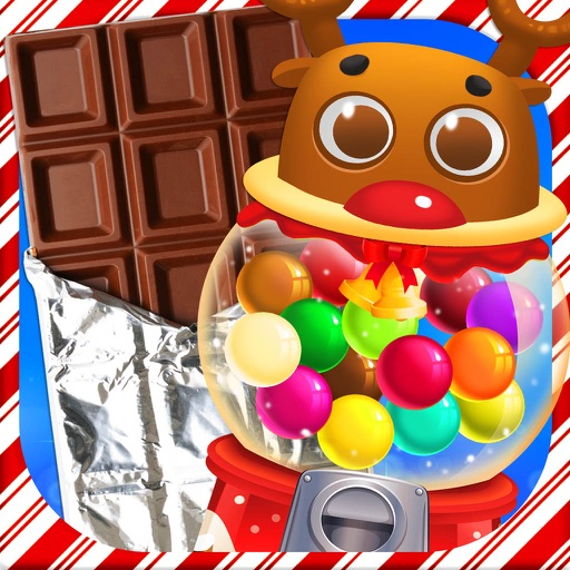 Chocolate & Bubble Gum Maker: Christmas Candy FREE