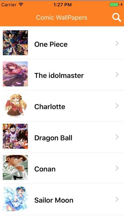 Comic wallpapers HD-Anime manga Game images