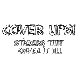 Cover up's! stickers cover it all