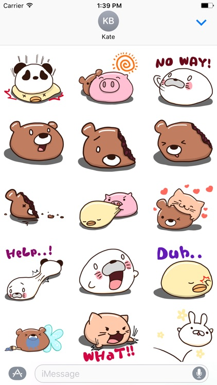Animal Sweets Sticker
