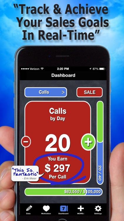 """Easy Sales Goal Tracker"""