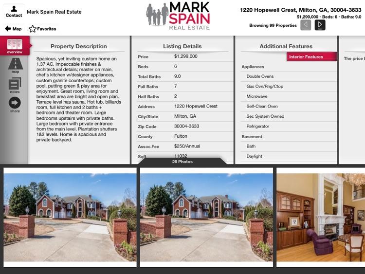 Mark Spain Real Estate for iPad screenshot-3