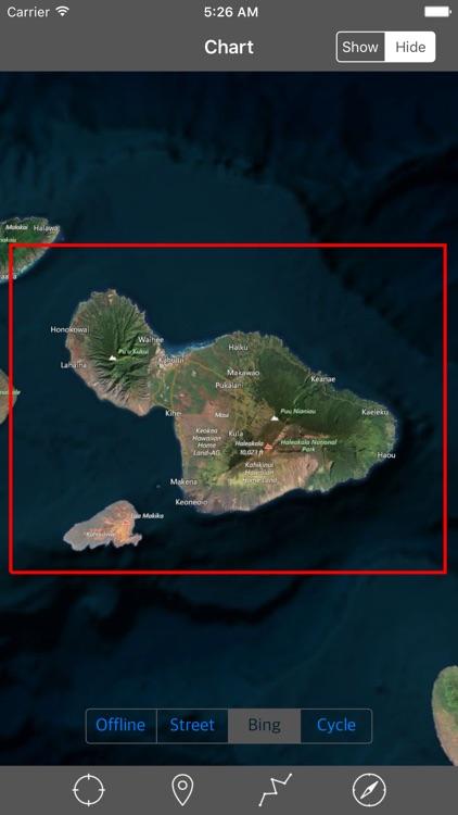 Maui – Raster Nautical Charts
