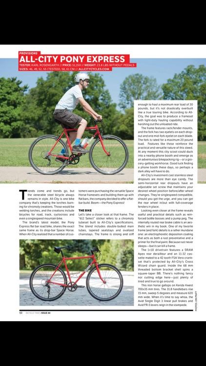 Bicycle Times Magazine screenshot-4