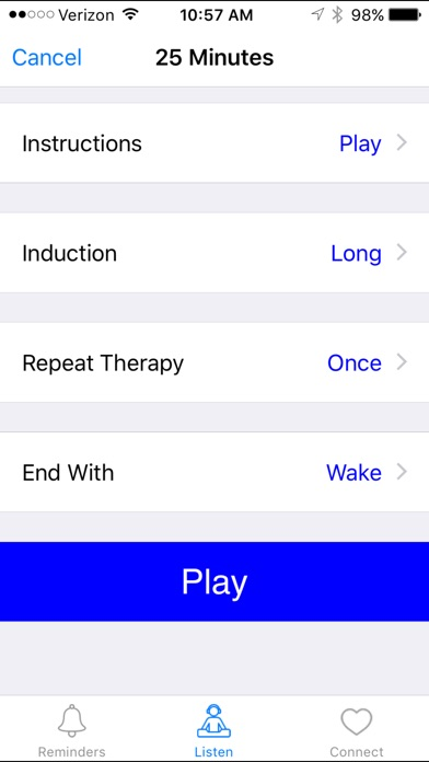 Screenshot for Visualize Healing with Andrew Johnson in Brazil App Store