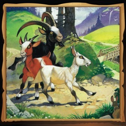 The Three Billy Goats Gruff English