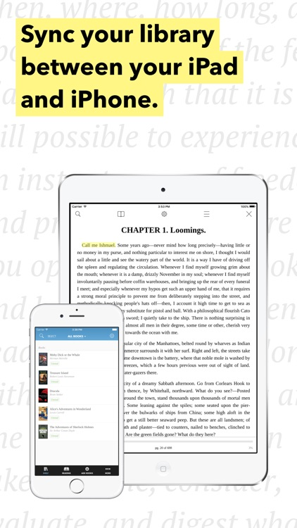 Hyphen - eBook Reader for ePub