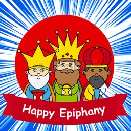 Happy Epiphany Stickers