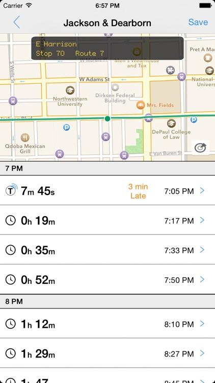 Transit Tracker - Chicago (CTA)