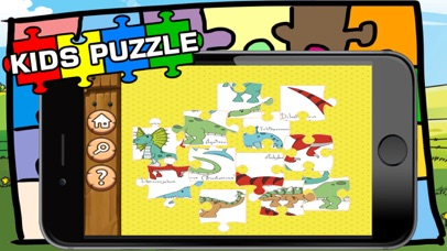 Dinosaur Puzzle Jigsaw HD Game For Toddlers & Kids screenshot two