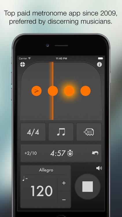 Tempo - Metronome with Setlists screenshot-0