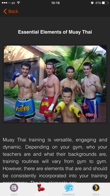 Muay Thai Training Techniques screenshot-0