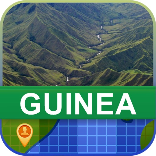 Offline Guinea Map - World Offline Maps