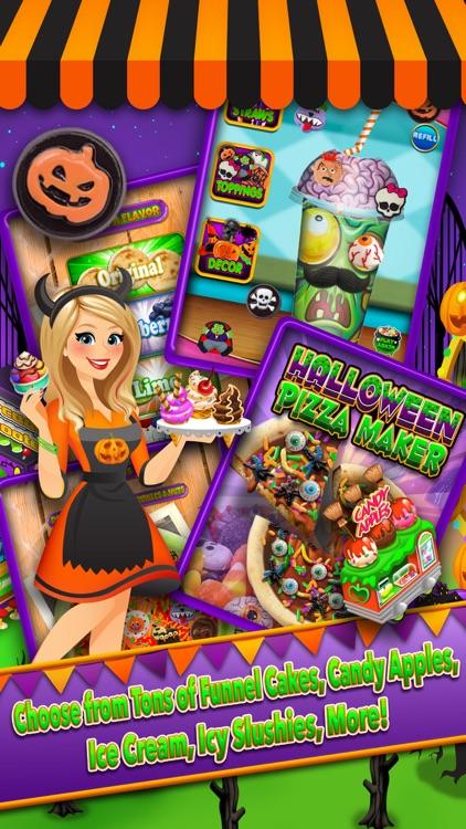 Halloween Theme Park Fair Food Maker Dessert Chef
