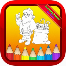 Activities of Santa Claus Christmas Kids Coloring Books for Baby