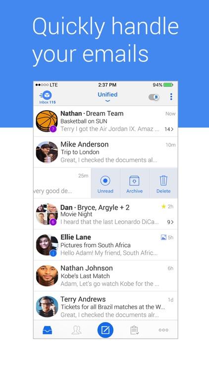 Blue Mail - Email Mailbox screenshot-3