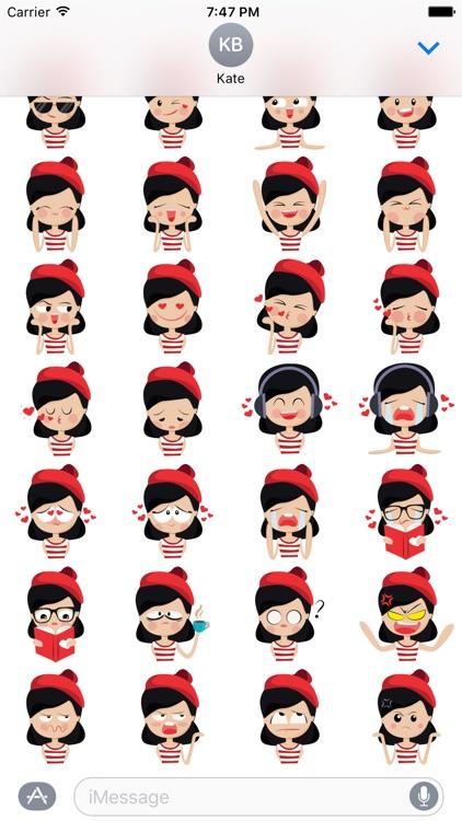 Little red hat - Fx Sticker