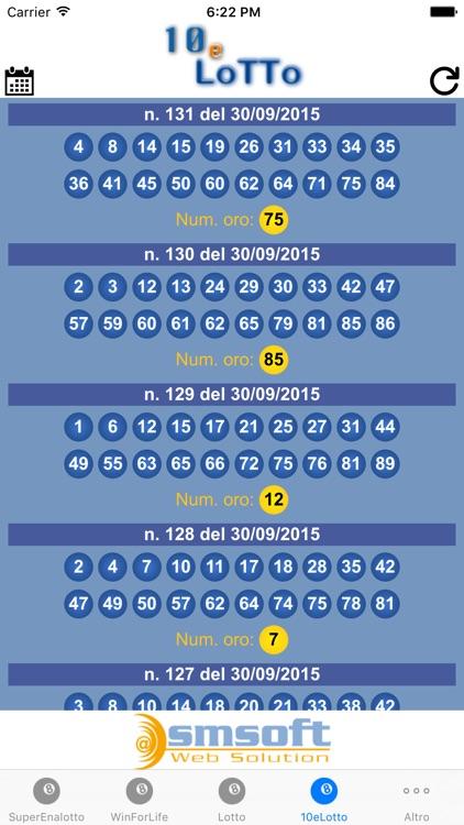 Estrazioni Lotto screenshot-4