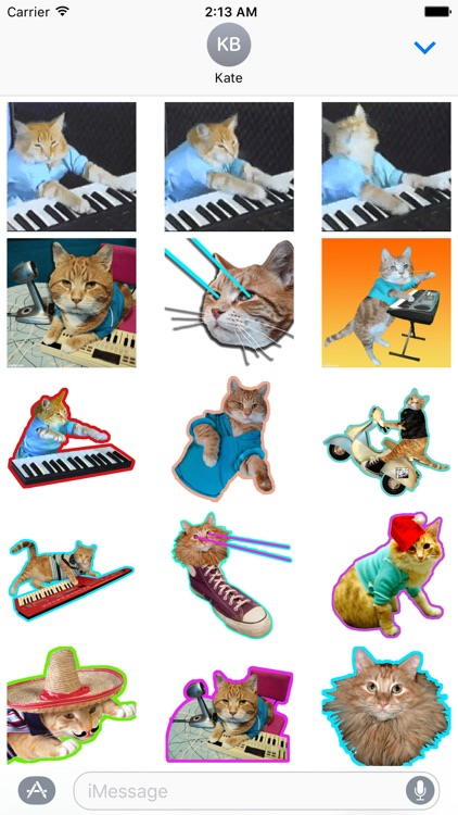 Keyboard Cat Stickers! screenshot-1