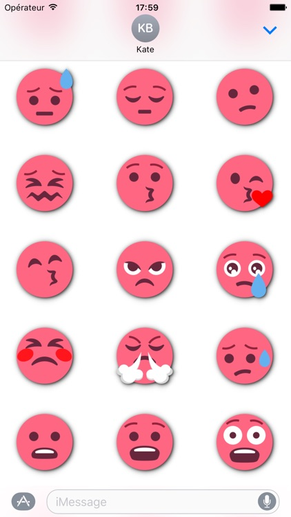 RED Emoji • Stickers for iMessage screenshot-3