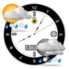 es ist eine bessere Uhr voll - Wetter-und Mondphase