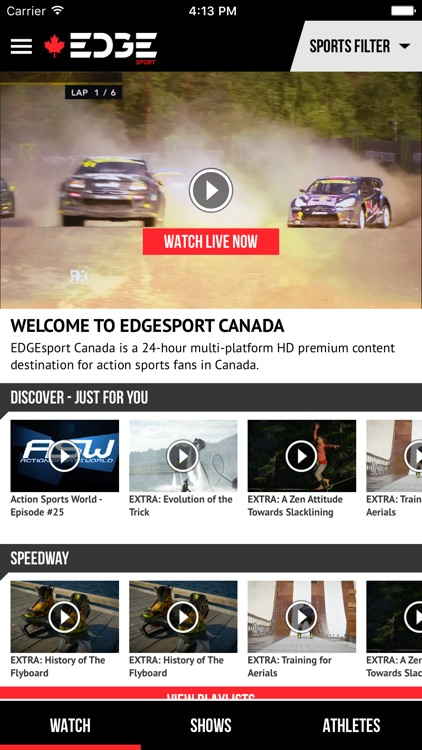 EdgeSport Canada screenshot-0