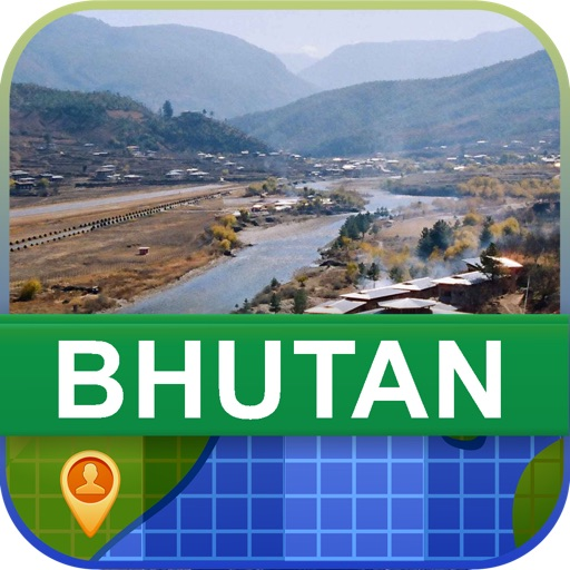 Offline Bhutan Map - World Offline Maps icon