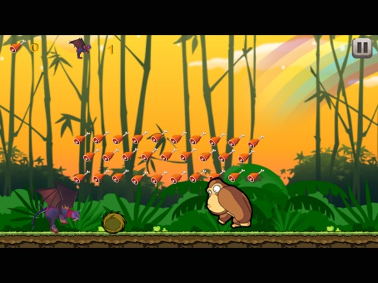 Super monster run adventures in monkey jungle-ipad-2