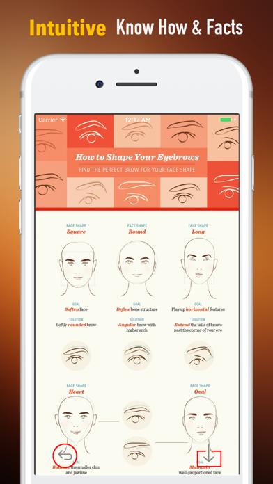 眉毛を整える方法 - 完璧な眉毛の形のおすすめ画像1