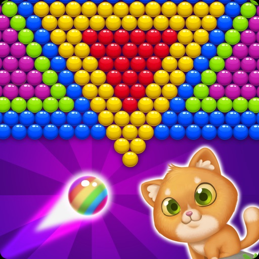 Bubble Shooter! Cat