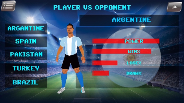 Pro Football Soccer League 3D screenshot-3