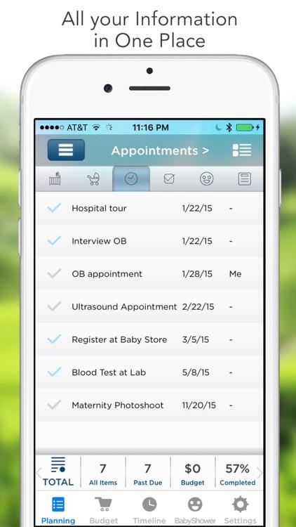 Pro Pregnancy Organizer (Checklist) screenshot-0