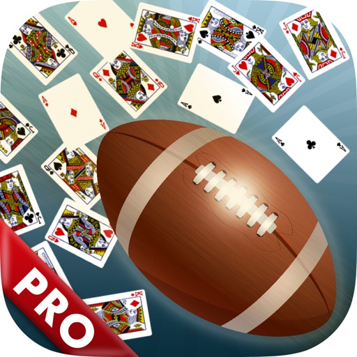 Football Solitaire Touchdown Score! Card Pro