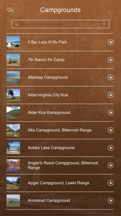 Montana Camping Guide screenshot-2