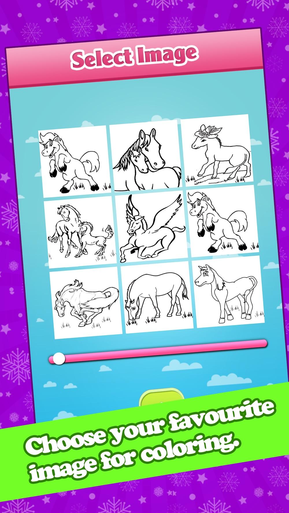 Horse Coloring-Interactive Colorfy Secret Editing hack tool