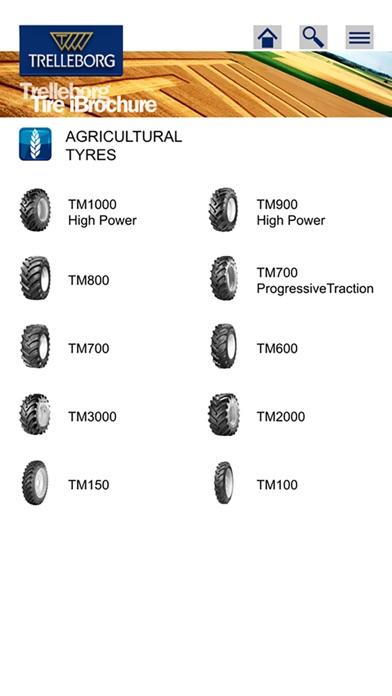 Trelleborg Tire iBrochureScreenshot von 2