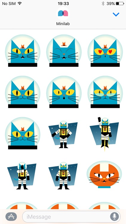 Astro Cat Stickers screenshot-3