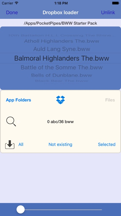 Bagpipes training with PocketPipes screenshot-4