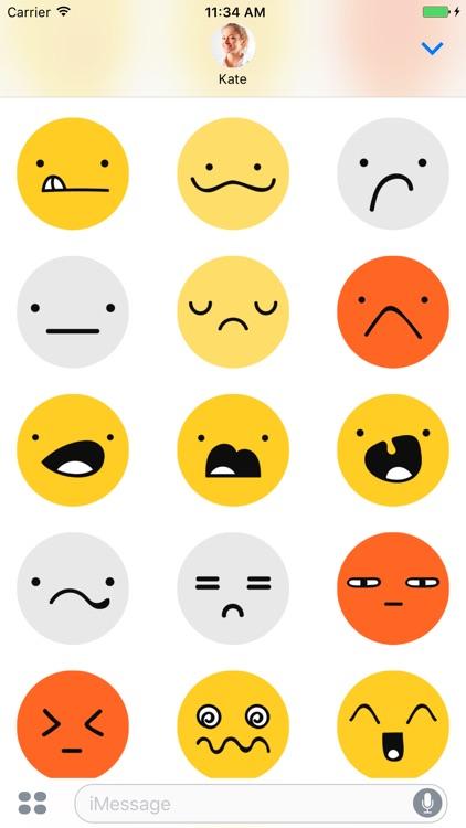 99 Emoji - Stickers for iMessage screenshot-4