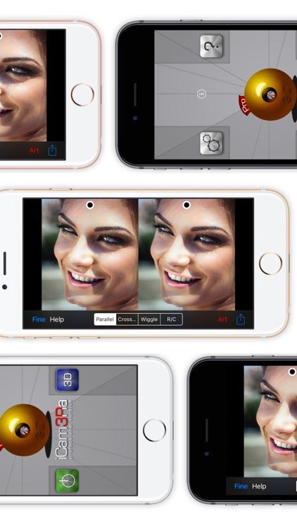 iCam3Ra - 3D Camera Photo Video Maker screenshot-3