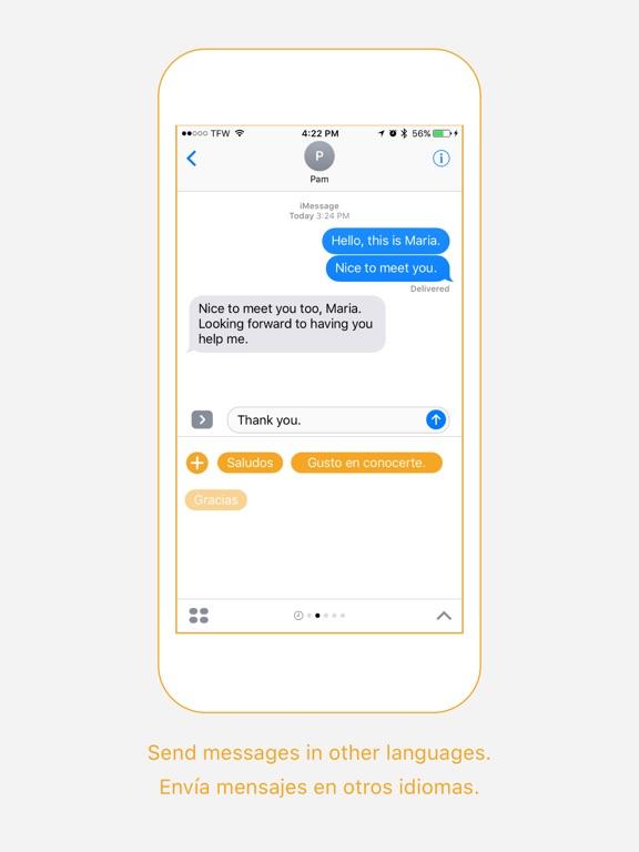 María App - Empieza la conversación-ipad-0