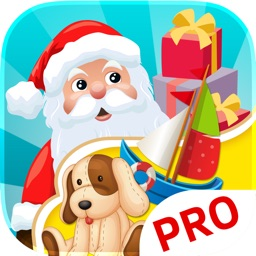 Santas Workshop Christmas games for kids. Premium