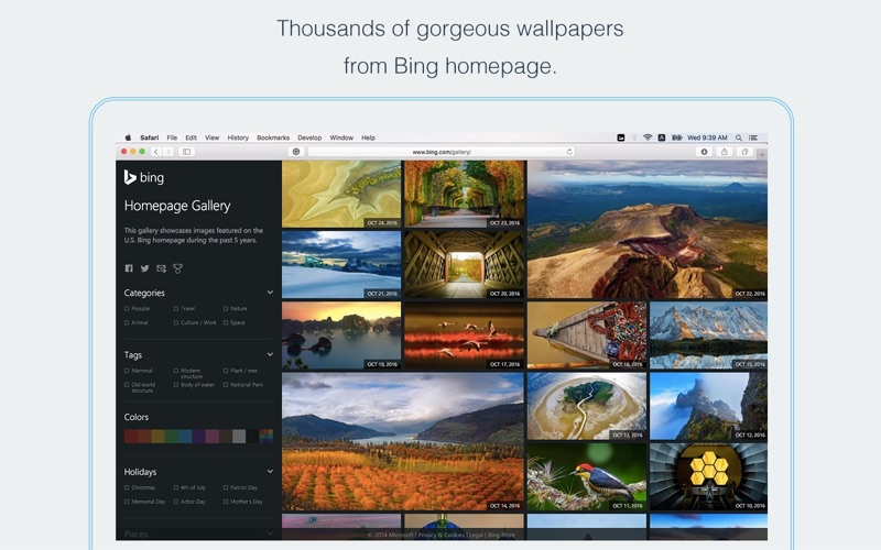 Wallpaper Daily Wallpapers From Bing Homepage Macgenius