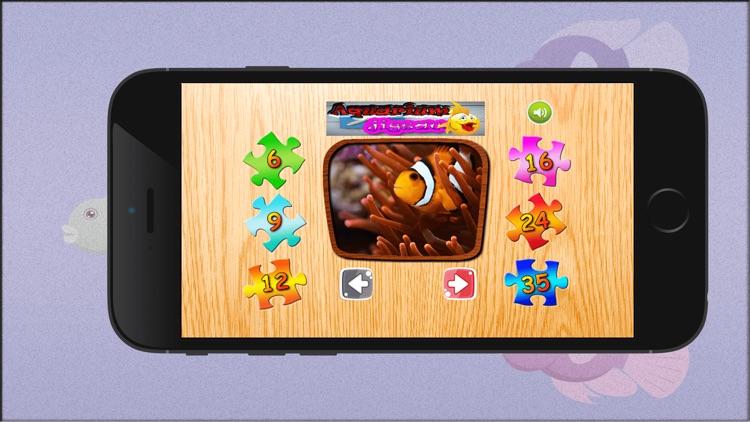 aquarium jigsaw game