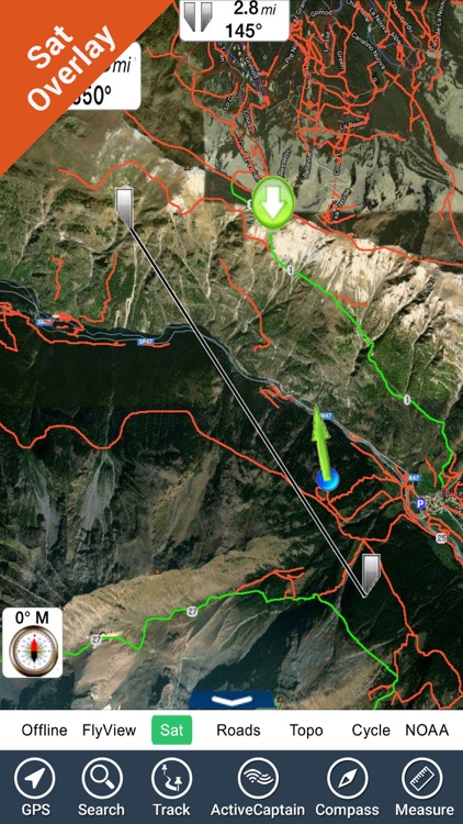 Ozark National Scenic Riverway - GPS Map Navigator screenshot-2