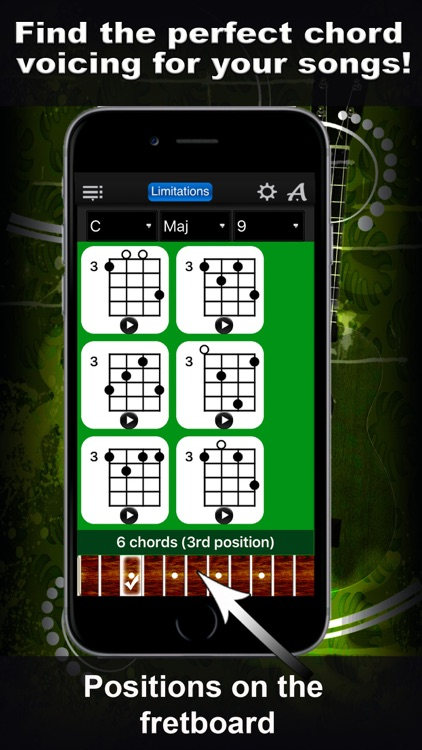 Ukulele Chords Compass Lite - learn the chord charts & play them screenshot-3