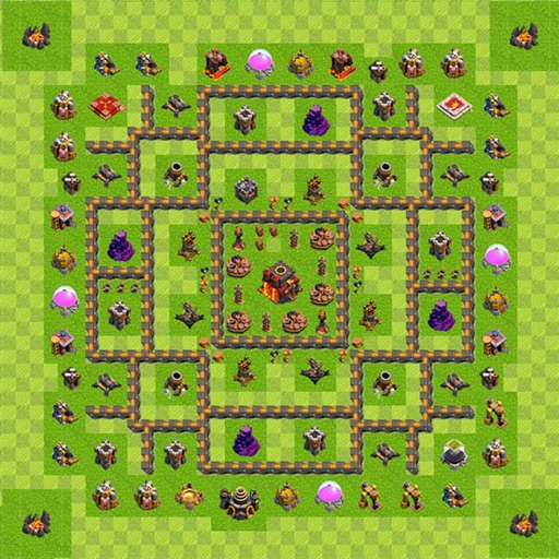 Coc Bases Layouts : Trophy Maps for Clash of Clans