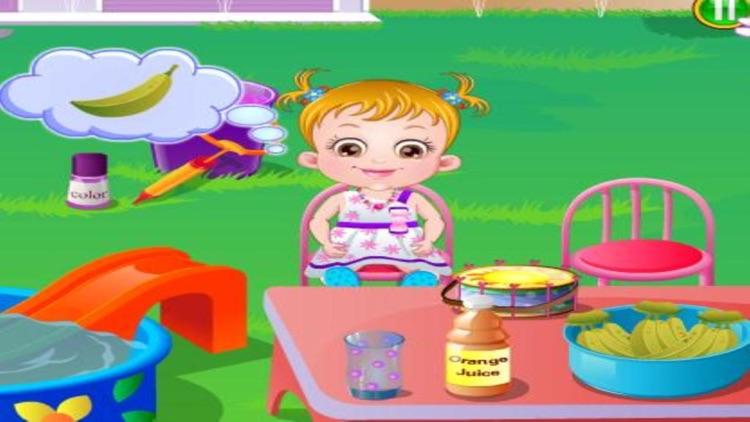 Baby Hazel : Backyard Party by wang kai