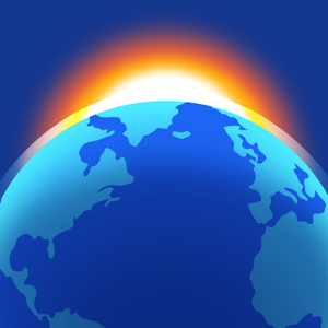 Living Earth - Clock & Weather app