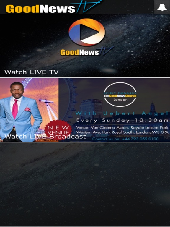 Screenshot #1 for The GoodNews Tv